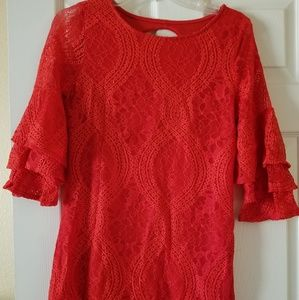 Francesca's Red Dress
